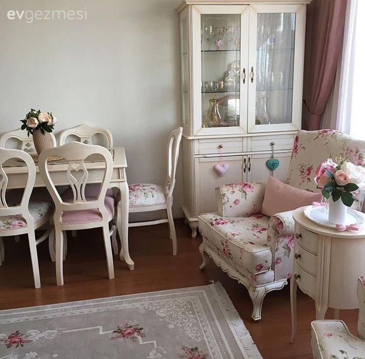 Berjer, Halı, Pembe, Salon, Yemek Odası