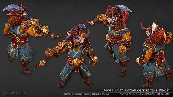 ArtStation - Juggernaut - Avatar of the Year Beast, Jeremy Klein