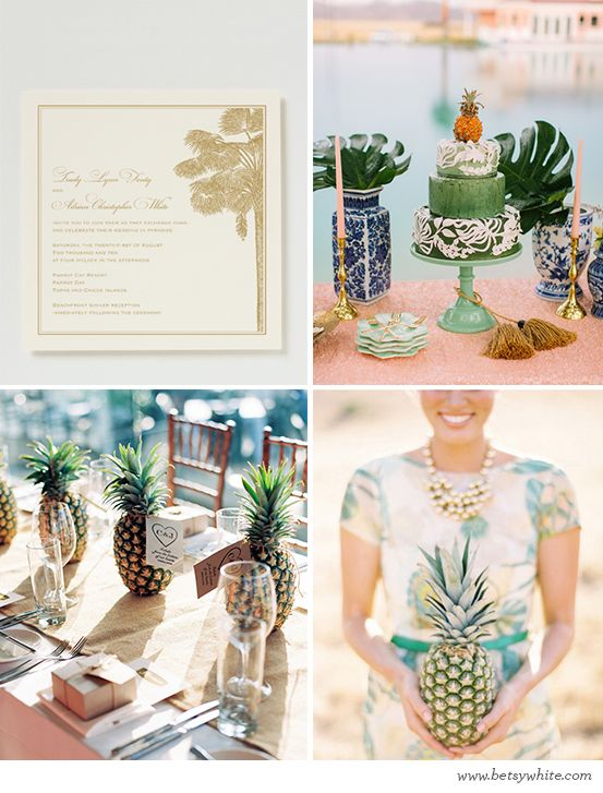 Sweet Pineapple Vows | Flights of FancyFlight, Fancy Blog, Parties Inspiration