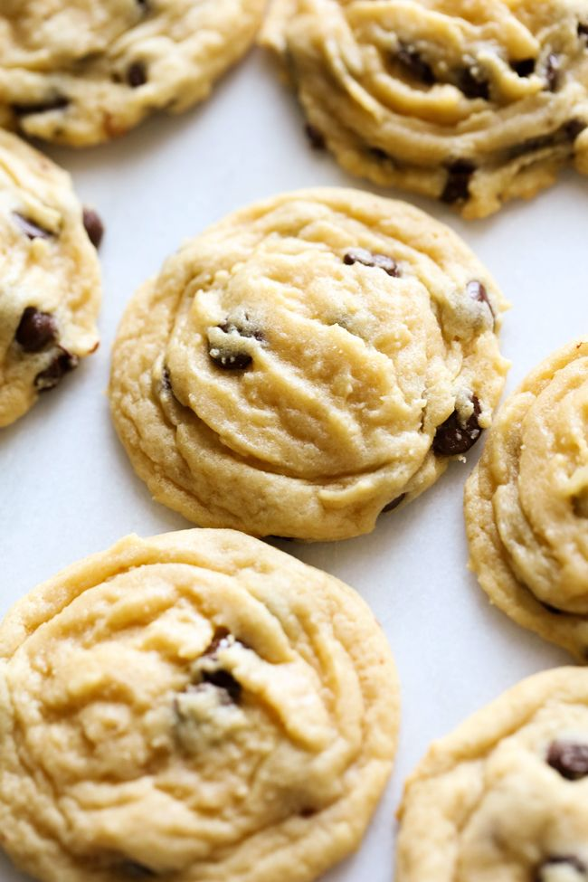 Chocolate Chip Pudding Cookies will be THE BEST and softest chocolate chip cookies you ever make! They are a hit and will instantly become your new go-to cookie recipe!