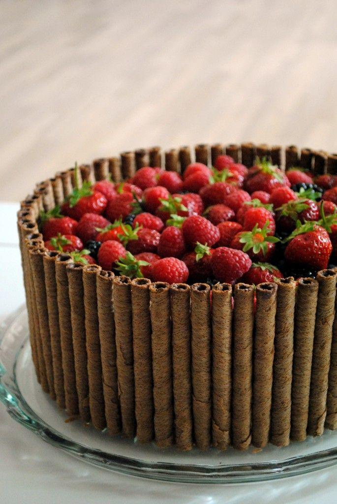 Ser vildt lækker ud - tror jeg er nødt til at invitere en håndfuld i jordbærsæsonen. Bare for at se om jeg kan regne opskriften ud