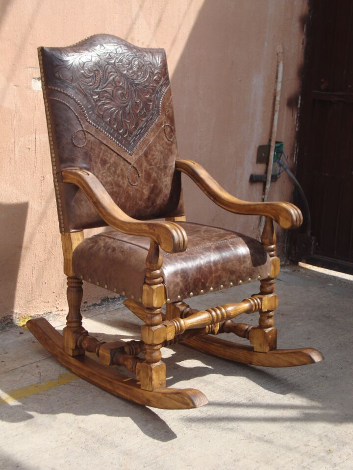 Tooled Leather Rocking Chair.jpe (720×960)