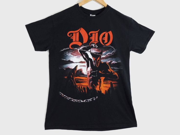 VTG Dio T-Shirt - Medium - The Last in Line - Heavy Metal - Metal Shirt - Rainbow - 80s Metal - Ronnie James Dio Tee - Vintage Clothing - by BLACKMAGIKA on Etsy