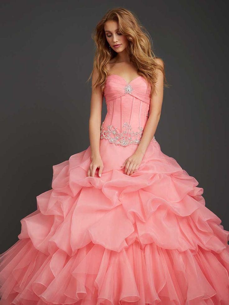76 best vestido images on Pinterest | Ballroom dress, Bridal gowns ...