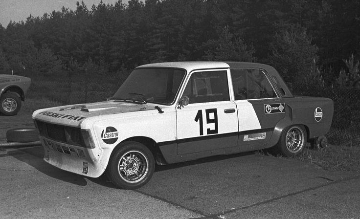 Fiat 125p wersja wyścigowa