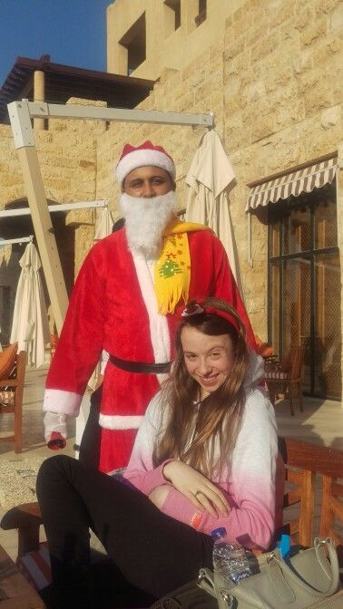 Christmas at the Dead Sea, 2015