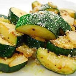 Sauteed Zucchini with Parmesan