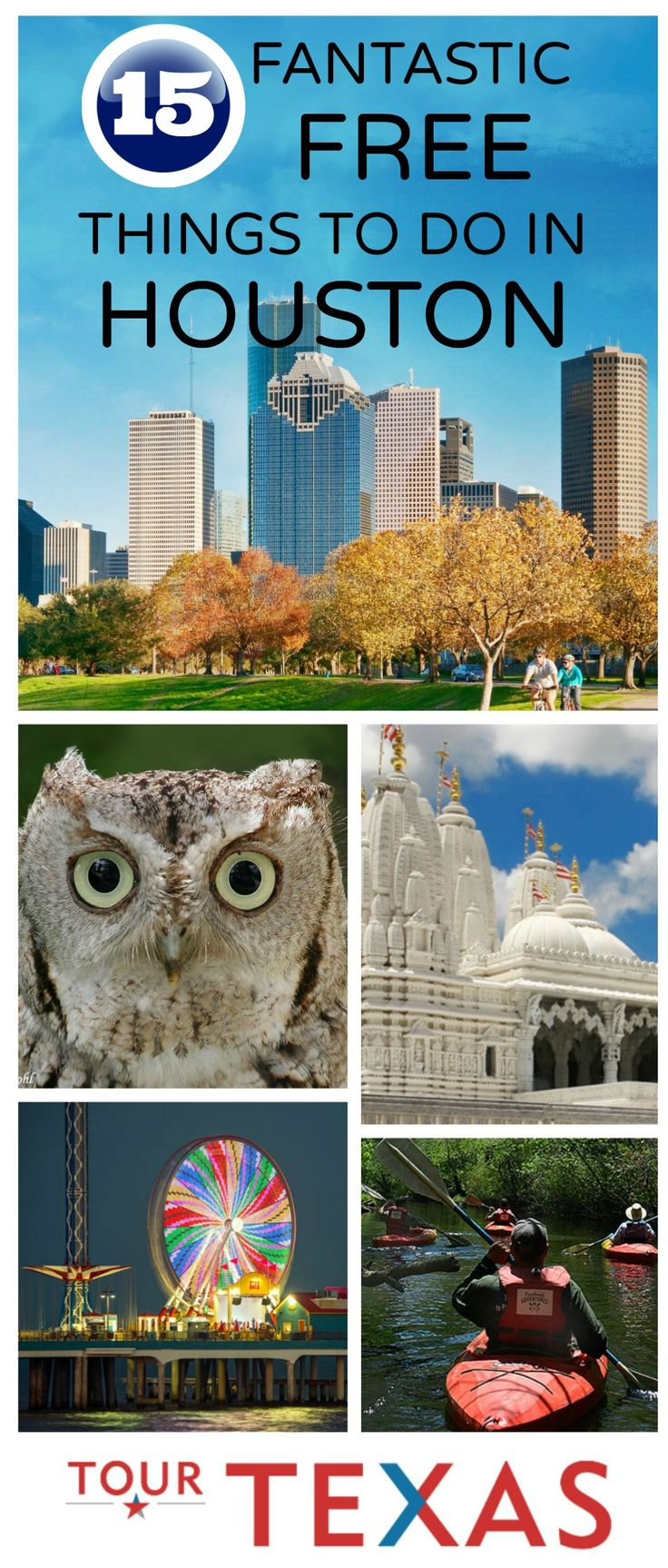 There are many ways to enjoy an unforgettable vacation in Houston, but many of the most memorable experiences won't cost you a dime. If you don't want to break the bank while you're here, then you have to check out these 15 fantastic free things to do in Houston. #Texas #Houston