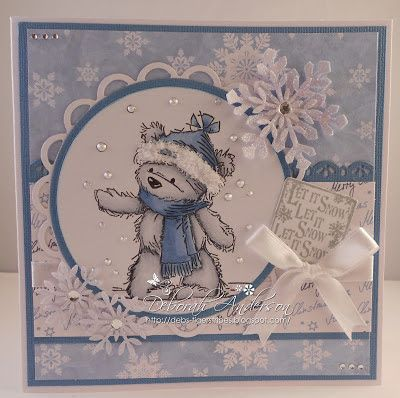Tiger Stripes: Let it Snow at Crafty Little Fairies