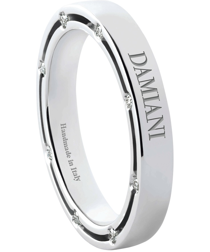 wedding bands by Damiani Jewelers... hmmm how much more perfect can u get?!? I hope to rock this at my wedding!