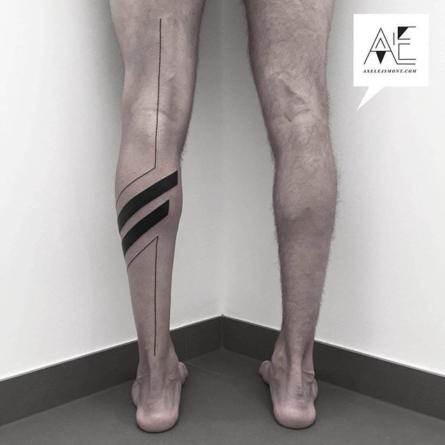 #axelejsmont #tattoo #minimal #tribal #graphic #art #tattoo #berlin