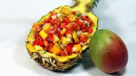 Inspired By eRecipeCards: Pineapple Mango Pico de Gallo Salsa - 52 Grilling Time Secret Extras