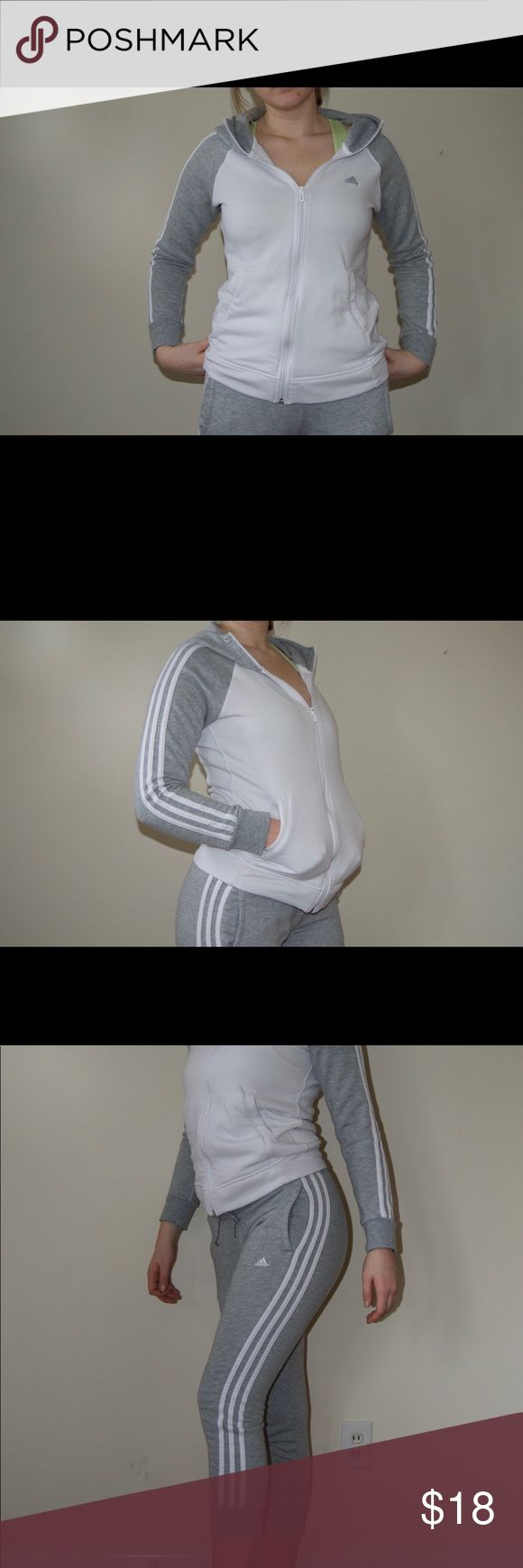 Adidas Zip Up Hoodie Comment for discounted matching set!! adidas Jackets & Coats