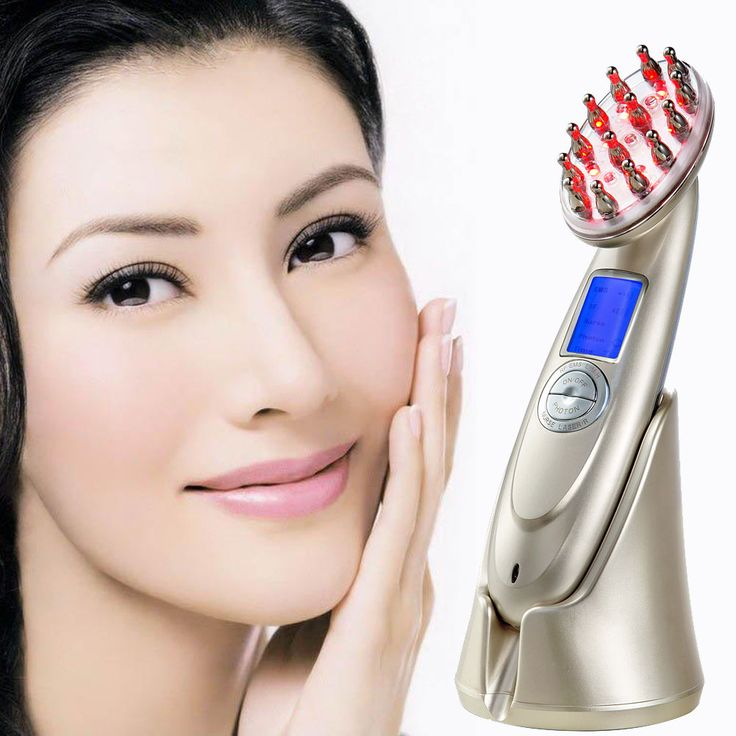 Power Grow Stop Hair Loss Treatment Charging Laser Comb Massage Therapy