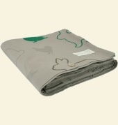 Organic Cotton Single Bed Duvet Cover.  Toddler Bed.