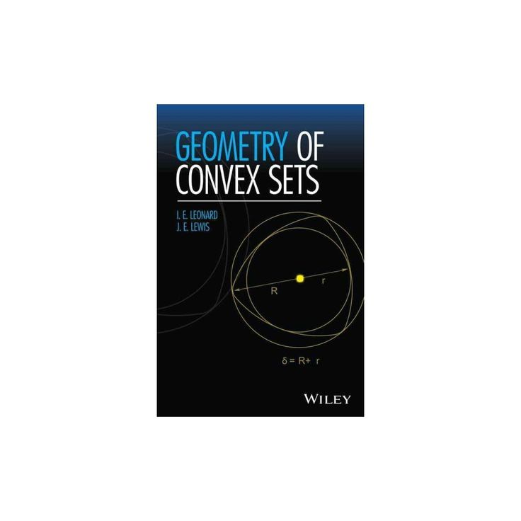 Geometry of Convex Sets (Hardcover)