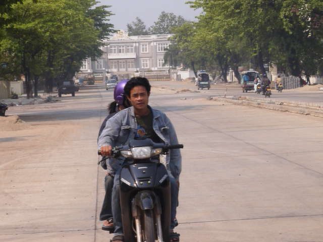 Scooter in the capital #Laos