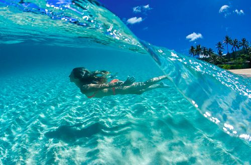 Hawaii Island, Hawaii.: Crystals, Clear Water, Buckets Lists, The Ocean, Swim, Best Quality, Borabora, Photo, The Waves