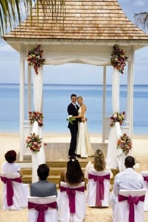 riu montego bay wedding gazebo jamaica offers couples easy marriage requirements and the riu offers affordable wedding packageswedding