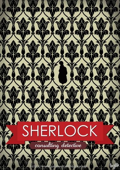 Sherlock Poster by Fabio Castro