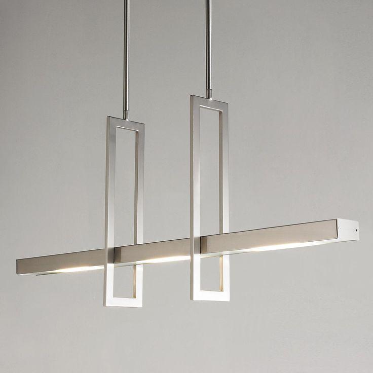 Energy Efficient Modern Balance Beam LED Island Chandelier