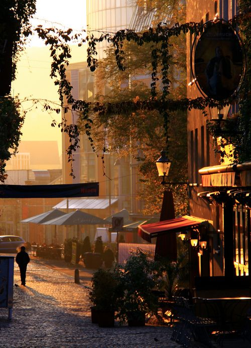 Side Street, Jena, Germany photo via irena