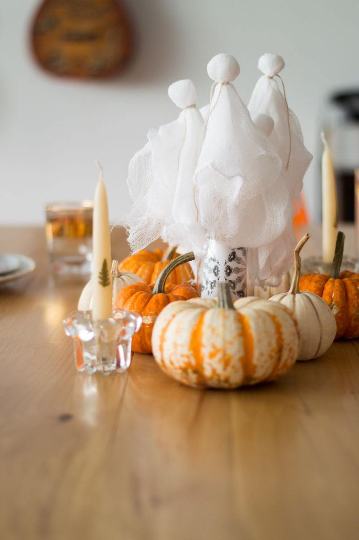 Centre de table pour l'Halloween - Halloween centerpiece