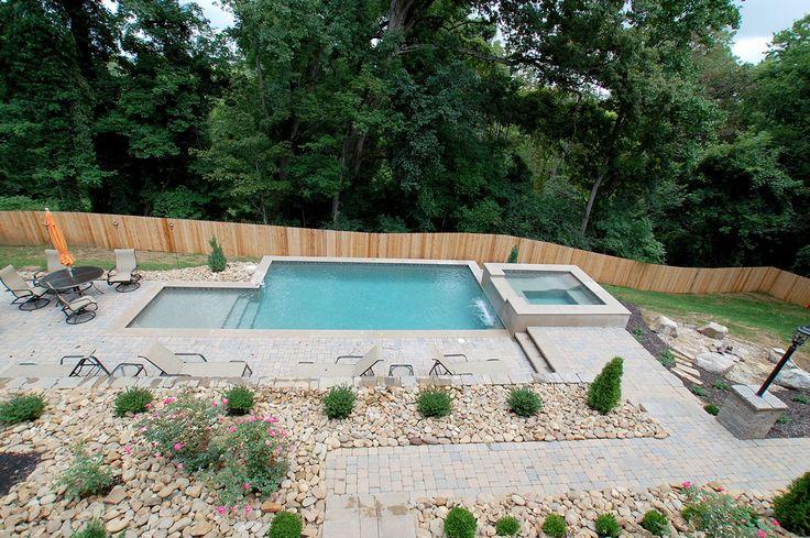 Best 25 gunite pool ideas on pinterest pool designs for Pool design knoxville tn