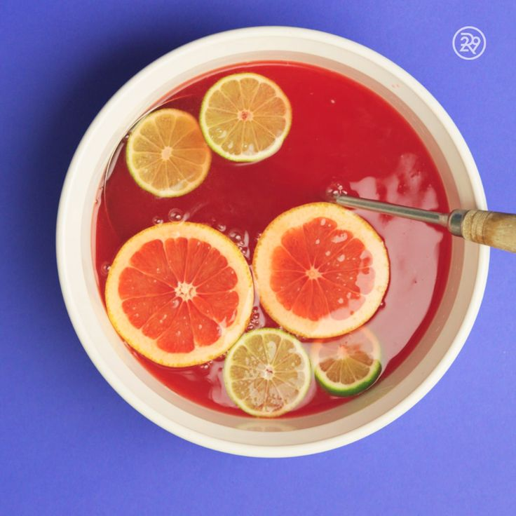 Campari & grapefruit soda