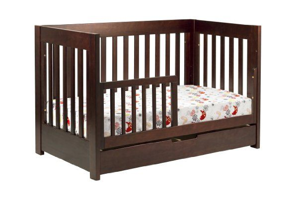 babyletto Mercer 3-in-1 Convertible Crib with Toddler Rail, White:Amazon:Baby