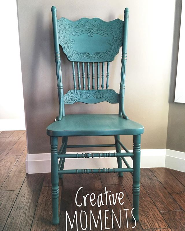 Teal Stools For 5 Chalk Paint Dining Chairs Painted Furniture