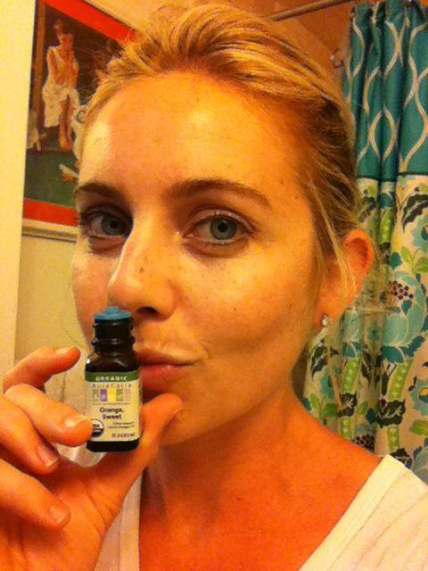 Orange Oil… the secret pimple remedy