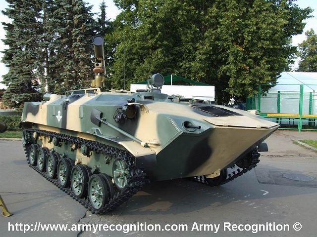 Russo BTR-RD missile anti-tank vettore aereo veicolo corazzato basato su airborne APC BTR-D. sistema ibrido pilota a bordo o pilota in remoto