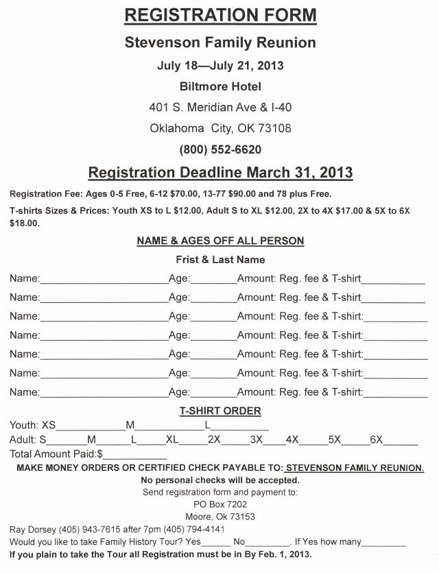 Family Reunion Registration Form Doc Awesome Family Reunion Letters Template Free Download Family Reunion Registration Family Reunion Newsletter Template Free