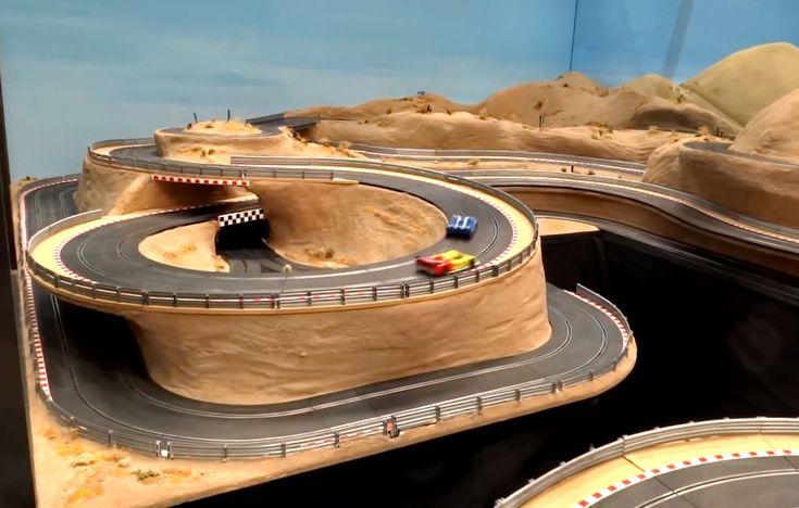 Slot Car Layout at Wroxham Miniature Worlds