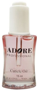 "Купить Масло для кутикулы ""Роза"" - Adore Professional на makeup.com.ua — фото N1"