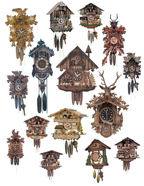 Always wanted an authentic Black Forest Cuckoo Clock-still waiting :(so many cuckoo clocks
