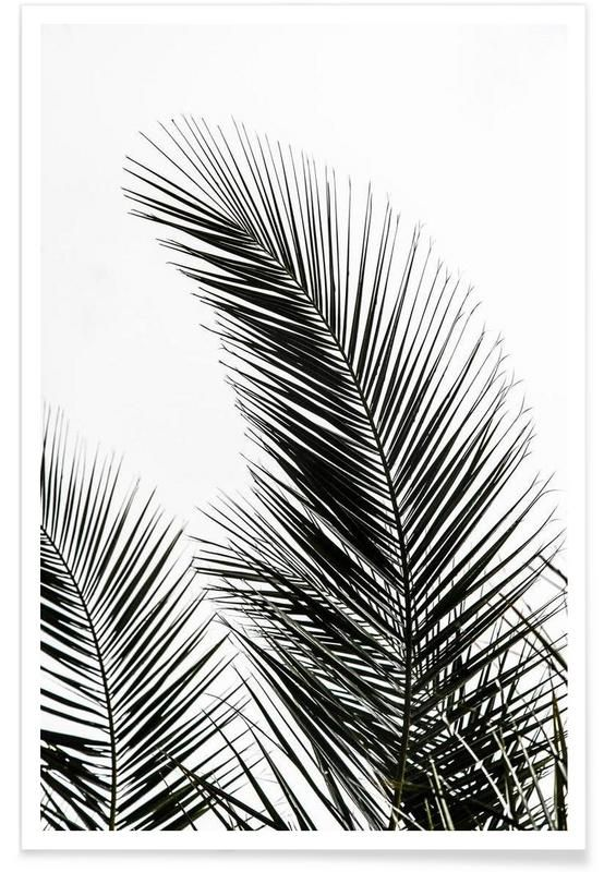 Palm Leaves 1 as Premium Poster by Mareike Böhmer | JUNIQE