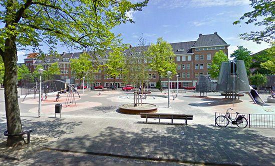 Speeltuin Columbusplein - Speeltuinen van Amsterdam