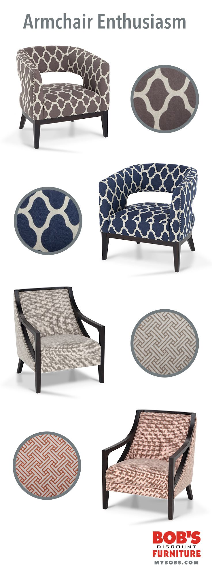Looking To Add Fresh Style To Your #homedecor? My Bonnie U0026 Clyde Accent  Chairs