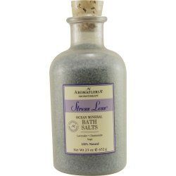 STRESS LESS by Aromafloria (UNISEX) OCEAN MINERAL BATH SALTS 23 OZ BLEND OF LAVENDER, CHAMOMILE, AND SAGE . $18.15