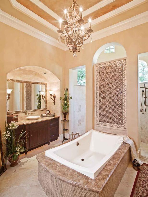 1734 best Beautiful Baths 1 images on Pinterest Bathroom