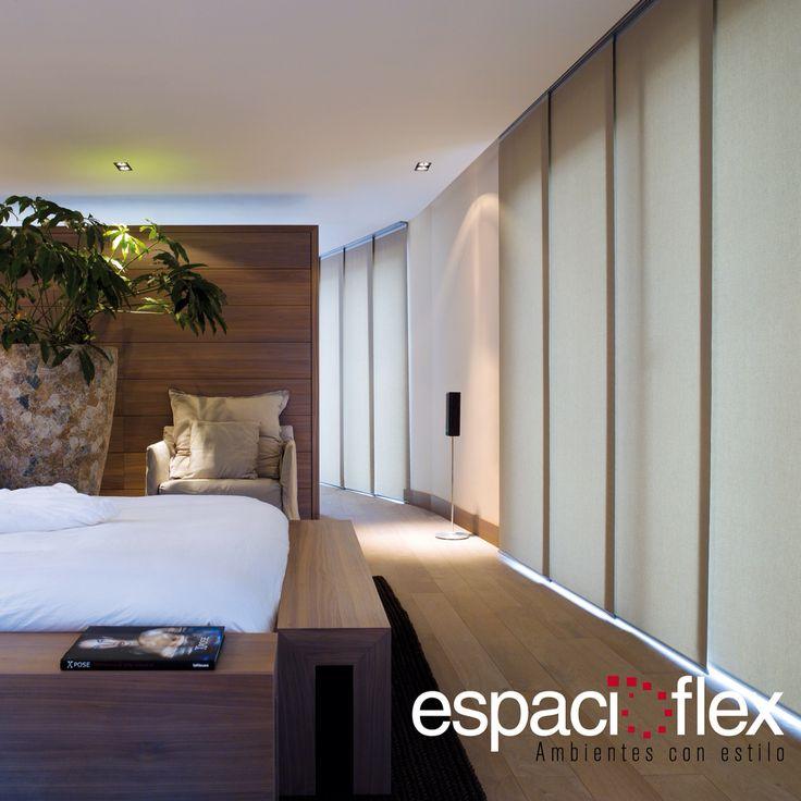 El #PanelJaponés es una #persianas minimalista, elegante y limpia, especial para grandes ventanas.
