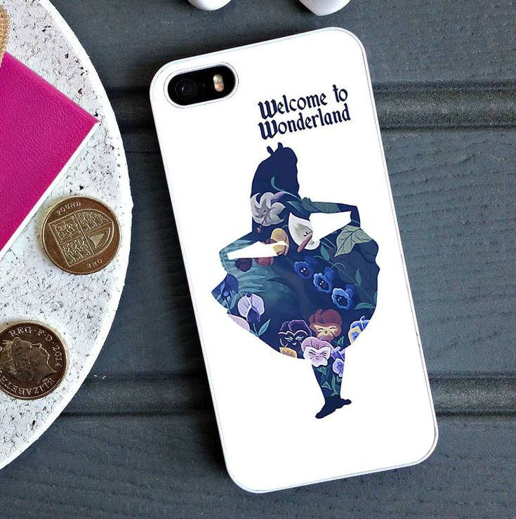 Alice in Wonderland Quotes - iPhone 6/6S Case, iPhone 5/5S Case, iPhone 5C Case plus Samsung Galaxy S4 S5 S6 Edge Cases - Shadeyou - Personalized Phone Cases