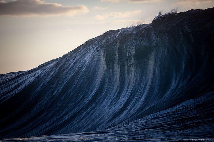 Les Vagues monumentales en Australie de Warren Keelan  (1)