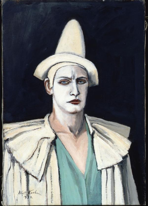 Blastedheath Walt Kuhn American 1877 1949 Portrait Of