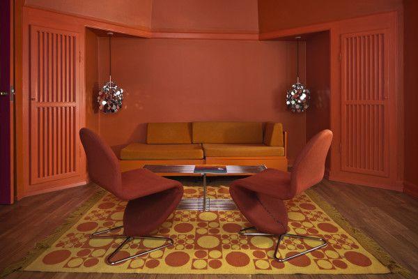 Verner Panton suite at Hotel Alexandra 2