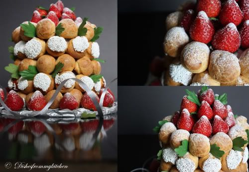 Dishesfrommykitchen: PIECE MONTEE OR CROQUEMBOUCHE - DARING BAKERS MAY 2010