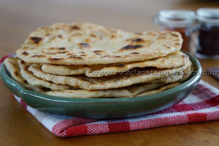 Massa de Wrap (Pão folha) | Receitas e Temperos