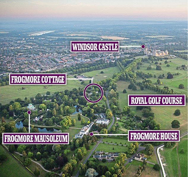 why harry s new home really is where his heart is windsor castle frogmore house castle windsor castle frogmore house